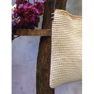 Solid Color Hand Knitting Beautiful Shoulder Bag Hemp Cheap Womans Bag