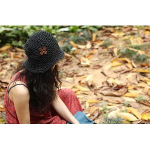 Low-cost Stereo Flower Hollow-out Visor Hat Knit Hat