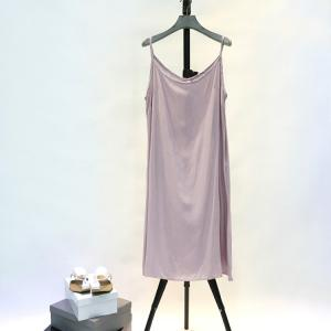 New Arrival Solid Color Cheap Bottoming Vest Casual Sundress