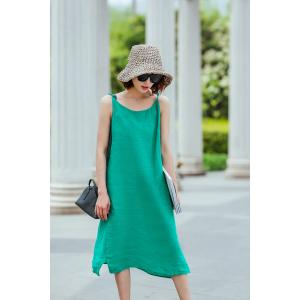Solid Color Cheap Dress Casual Dress For Woman