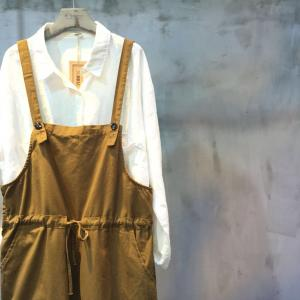 Drawstring Waist Side Zip Linen Overalls Wide-Legs Plus Size Suspenders