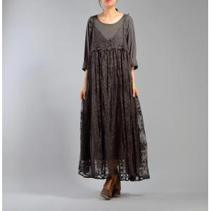 New Arrival Organza Embroidered Dress With A Casual T-shirt