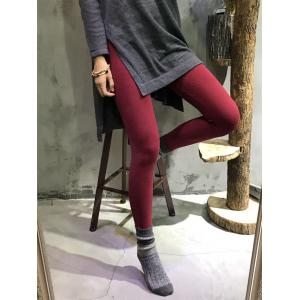 Letter Prints Comfortable Cotton Leggings Womans Skinny Render Pants