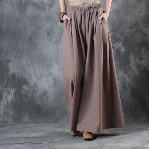 New Arrival Thicken Plus Size Woolen Pants Womans Winter Trousers