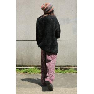 Best-Selling Knitted Baggy Pants Vintage Folk Trousers