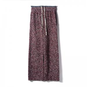 Hot-Selling Colorful Korean Wide Leg Pants Winter Cozy Baggy Trousers