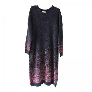Best-Selling Sparkle Dots Sweater Dress Womans Long Sleeve Christmas Knitwear