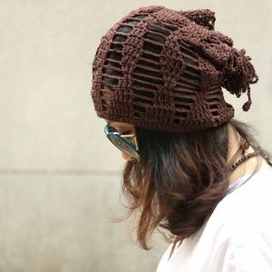 Street Fashion Hollow Out Knitting Beanie Handmade Womans Hat