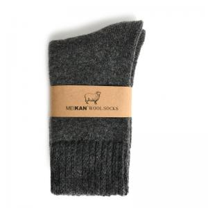 Monochromatic Thicken Wool Socks Womans Crew Socks