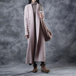 Beautiful Cable Knit Cardigan Long Oversized Wrap Cardigan