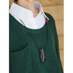 Embroidered Collar Korean Sweater Oversized Green Sweater