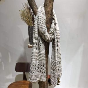 Hollow Out Korean Scarf Womans Knitting Scarf