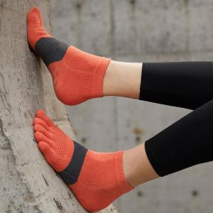 Sport Style Hollow Out Running Socks Breathable Yoga Toe Socks