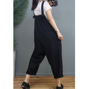 Street Style Graffiti Painted Overalls Large Comfy Gardening Clothes